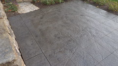 Angola - Crooked Lake Stamped Concrete Recolor & Seal (SupremeCrete) Tags: indiana seal recolor angola stampedconcrete crookedlake