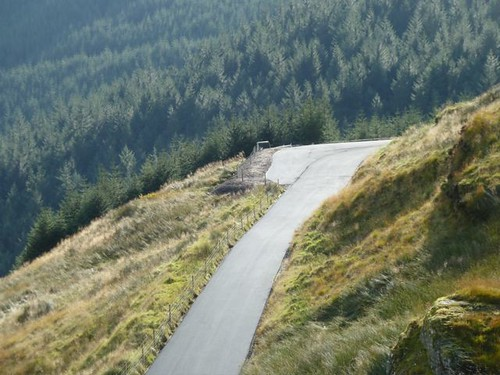 Close up hairpin below RABT
