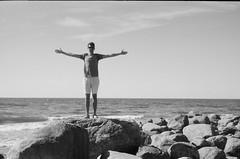 001566650013 (putjka) Tags: kiev4 analog film filmphotography kodak tmax100 bw retro beach latvia