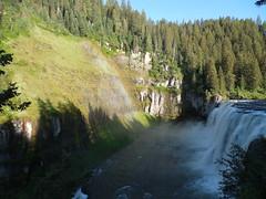 Rainbow over Upper Mesa Falls (jimmywayne) Tags: waterfall rainbow falls historic idaho waterfalls snakeriver henrysfork fremontcounty uppermesa