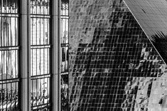 B&W Patterns-4363 (Steve's Reflections) Tags: bw buildings architecture mandalay luxor
