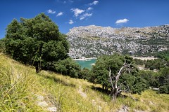 Hidden lake (kecal_2) Tags: pentax pentaxk3 k3 mallorca spain balearicislands lake mountains