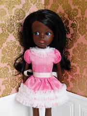 Coco (Cossette...) Tags: sindy doll liccabody black african pedigree custom cossette
