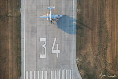 Runway 34 (Champion Air Photos) Tags: runway gillette wyoming airport b25 aerial