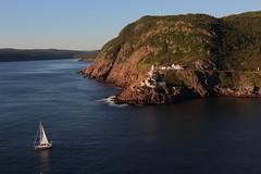IMG_3314 (daveg1717) Tags: fortamherst fortamherstlighthouse fortamherstgunshelters boats sailboat lighthouse harbour stjohns stjohnsharbour thenarrows