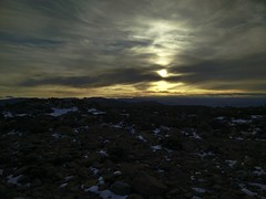 Sunset from Mt Wellington