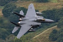USAF Boeing F-15E Strike Eagle 91-0329 low level at Ullswater (NDSD) Tags: low level boeing f15e strike eagle usaf ullswater cumbria flying jet raf lake district lakenheath