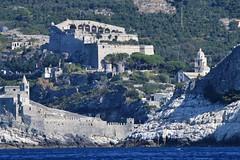 doria castle (dinapunk) Tags: italy sea cinqueterre laspezia stpeter