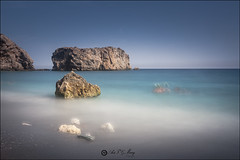 La Rijana,Granada (Art.Mary) Tags: mer sea playa plage beach larijana granada andaluca espaa espagne spain canon blue bleu azul playalarijana agua eau water
