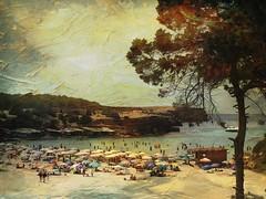 Cala Saona - Formentera   (Explore 18/8/16) (Arnzazu Vel) Tags: texture textura nature paintingstyle playa beach calasaona formentera