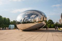 The Bean (Ivaj Aicrag) Tags: landscape chicago illinois ruta66 route 66 ruta route66 usa estadosunidos pano panorama panormica panoramic scapeland paisaje rascacielos skycraper parquedelmilenio milleniumpark bean