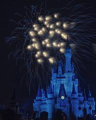 Fireworks Friday (Allen Castillo) Tags: waltdisneyworld disney wdw amgickingdom cinderellacastle wishes wishesfireworks fireworks nikond610 nikon28300 orlando florida themepark nightphotgraphy longexposure outdoors