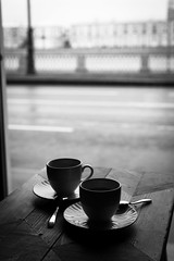 *** (Misha Sokolnikov) Tags: coffee cafe cup russia saintpetersburg stpetersburg buterbrodsky blackandwhite noiretblanc blackwhitephotos leica leicamonochrom leicamm 50mm aposummicron