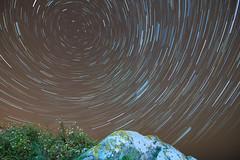 As the world spins... (Ddariuss) Tags: beach ireland night stars startrails