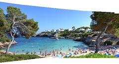 Sea Panorama (GadgetHead) Tags: calador spain espaa majorca mallorca holiday holidays jollies joiner panorama photoshop photoshopelements photoshopelements12 nikond3100 d3100 dslr