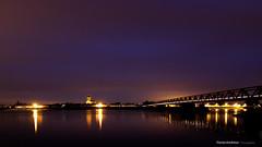 St Mathurin / Loire (phoxion) Tags: 49250 floriankerdreux loire maineetloire nuit paysage photographie pont poselongue stmathurinloire saintrmylavarenne paysdelaloire france