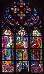 Wroclaw, catedral de San Juan Bautista - Ostrw Tumski (La Isla de la Catedral) (Alejandro Gonzlez i Mas) Tags: breslavia wroclaw catedral ostrwtumski poland polonia vidriera