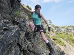 Shooting Lara Croft - Calanque du Mont Salva - Six Fours les Plages - 2016-08-11- P1500518 (styeb) Tags: shoot shooting lara croft 2016 aout 11 calanque mont salva sixfourslesplages t