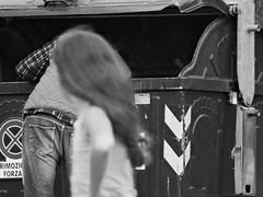 L'altra faccia di Genova (ottonellol) Tags: laltra faccia di genova cornigliano campi genoa city citt italia italy child kid ponente underground black white blackandwhite biancoenero bambina senzatetto senza tetto homeless
