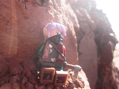 The calm after the storm (Marley Mac) Tags: lego marleymac photo photography picture outside nature beach minifig minifigure fig rocks sun bright outdoors elf elves medieval fantasy castle ranger rouge