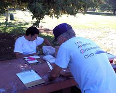 006 Luigi Works As Fast As He Can (saschmitz_earthlink_net) Tags: 2016 california encino lakebalboa orienteering laoc losangelesorienteeringclub losangeles losangelescounty lakebalboaanthonycbeilensonpark