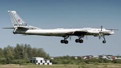 RF-94132 (2) (Shnipper) Tags: russianairforce tupolev tu95ms bear tsyupka shnipper aircraft landing airplane bomber spotting pentax k3 sigma150500 rf94132