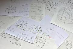 Thermodynamic failure (pedrik) Tags: paper kinetics thermodynamics equilibrium handwritten work d7200 nikkorafsdx35mmf18g gimp science writing scheme