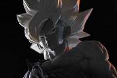 Banpresto Master Stars Piece -  The Gokou ( The Tones. ) (Andy @ Pang Ket Vui ( shootx2 )) Tags: banpresto master stars piece dbz the gokou dragonball anime black white mono tones super
