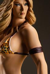 Jungle Girl 7 (Desert Dragon Visual Arts) Tags: frankcho junglegirl statue womenofdynamite