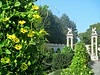 Summer in Paradise (DannyAbe) Tags: untermyerpark yonkers publicgarden landscapearchitecture yellow flowers sphinxes thebestyellow