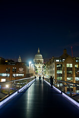 Light Trails in London (MOLIBLOG) Tags: light trails london dlr thames river st pauls the shard bus