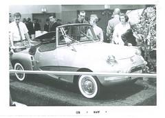 France Jet at New York Auto Show (Hugo90) Tags: auto sports car display exhibit vehicle 1960 newyorkautoshow brutsch francejet vantungngo jacquesfisher unionindustrielle