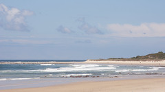 Sun and sand (judith511) Tags: sea people sun beach sand waves land idyllic scavchal