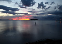 Attimi - Moments (da.geli) Tags: sunset sky italy lake water clouds moments attimi umbria trasimeno stunningskies mygearandme mygearandmepremium