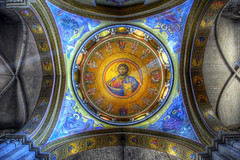 Ceiling of the Church of the Holy Sepulchre