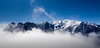 Mont Blanc...above the clouds (shaun-walby photography) Tags: france mountains alps colour landscape alpine mountaineering chamonix mont blanc