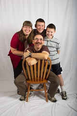 Family portrait (3.0) (The Bacher Family) Tags: family portrait david chair kevin daniel kelli 3000v 500v 1000v 2000v thelightisall