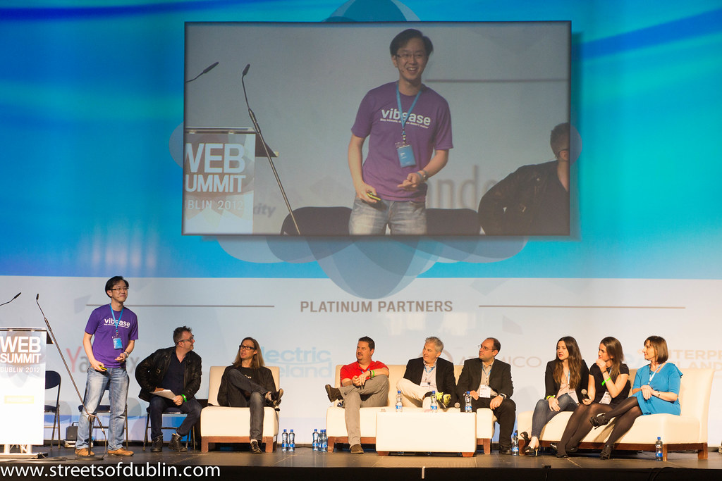 Dema Tio - Spark Of Genius Start-up Competition: Web Summit 2012 (Dublin)