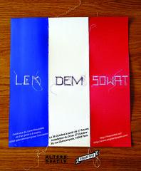 Lek + Dem + Sowat (sowat dmv) Tags: street paris art paper print lca raw f1 mausoleum 1984 dmv lek lbd gns mausolée mausolee sergent sowat damentalvaporz lithogragphie