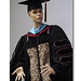 Academic regalia, fabric, mannequin, 2006, ©Laurie Hogin120_lg_new.jpg