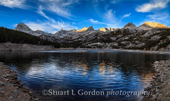 South Lake Panorama (chasingthelight10) Tags: california travel mountains nature dawn landscapes seasons events lakes panoramas places vistas sunrises canyons creeks wildernesstrails southlake easternsierra bishopcreekcanyon otherkeywords