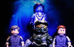 Halo 4 Showcase - Custom Campaign Characters Preview (MGF Customs/Reviews) Tags: lego infinity chief 4 halo master requiem campaign cortana unsc promethean