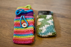 IMG_1379 (Janelle *CharisPhotography*) Tags: phone handmade crochet case dishcloth etsy coaster washcloth ereadercase