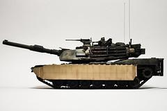 M1A2 Abrams NATO Desert (Minba) Tags: afghanistan scale army us war tank desert iraq duke 124 marines m1a2 abrams nato tusk m1a1 vstank tuskii