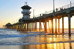 HB Pier 5 (floridaimages) Tags: ocean california beach pier waves socal huntingtonbeach hb