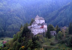 North Italian Castle (saxonfenken) Tags: italy mist castle fog hill superhero trento gamewinner 6984 friendlychallenge thechallengefactory herowinner pregamewinner friendlychallengessweep day12riva 6984house