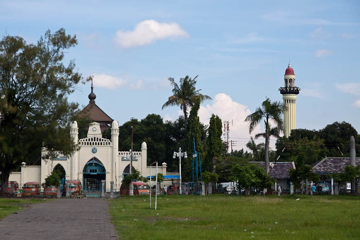 Mosque, Solo, Central Java, Indonesia