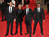 Marvin Humes, Aston Merrygold, J.B. aka Jonathan Gill and Oritse Williams of JLS James Bond Skyfall World Premiere held at the Royal Albert Hall- London