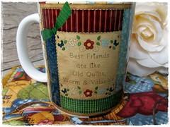 MUG & RUG by DASDE (frente) (**DASDE Artes!**) Tags: quilt mug patchwork caneca mugrug tapetedecaneca