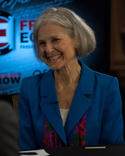 From flickr.com/photos/57146043@N07/8122291919/: Jill Stein and the Green Party